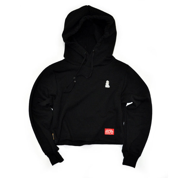 Signature Maddie Hooded Popover (Black)