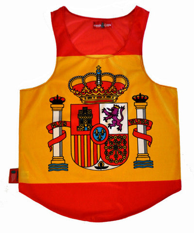 Spain Flag Tank Top - CHRiS CARDi House of Design