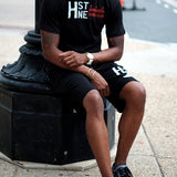 H st. Sweat Short (Black)