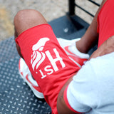 H st. Sweat Short (Red) - CHRiS CARDi House of Design