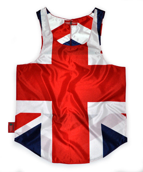 United Kingdom of Great Britain Flag Tank Top