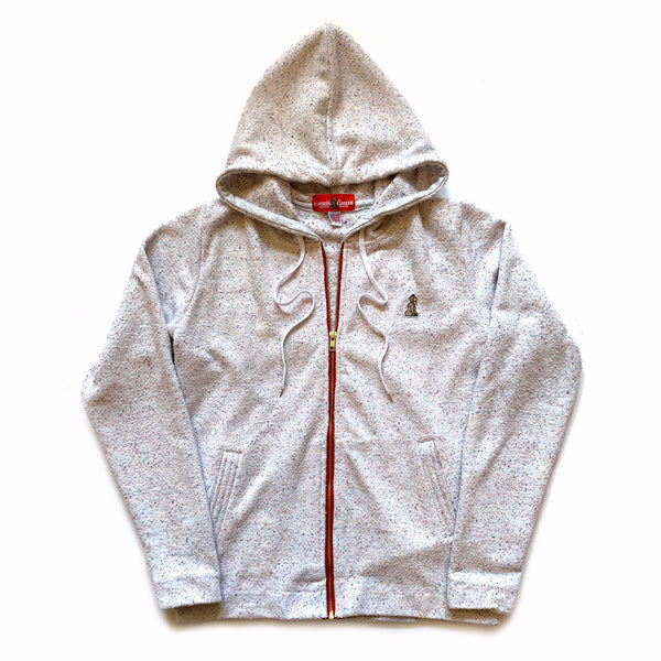Zip Up Hoodie (Speckled Terry) - CHRiS CARDi House of Design