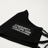 COMMUNITY CULTURE 2020 (Cardi X Close Collaboration) S.R.E. MASK (Black) - CHRiS CARDi House of Design