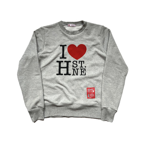 I ❤️ H ST. NE Sweatshirt (Gray) - CHRiS CARDi House of Design