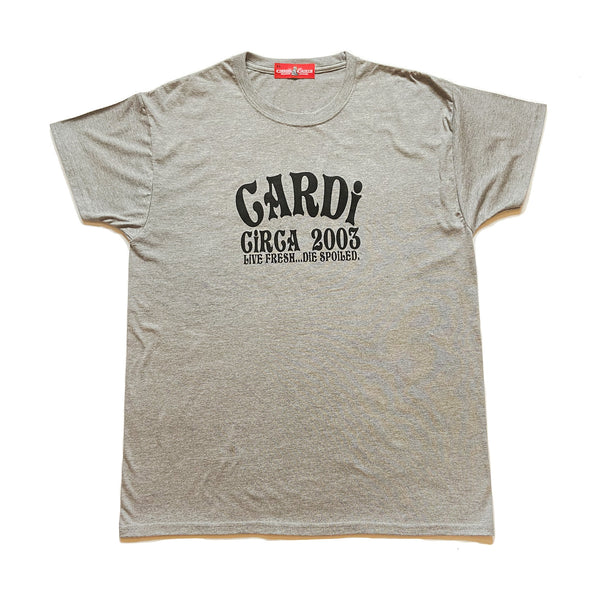 CARDi Signature Tee (Grey/Black)