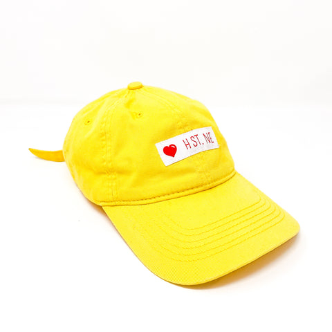 ❤️ H ST. NE Dad Cap (Yellow)