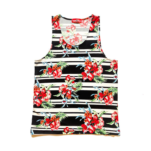 Horizon Striped Tropic Tank Top