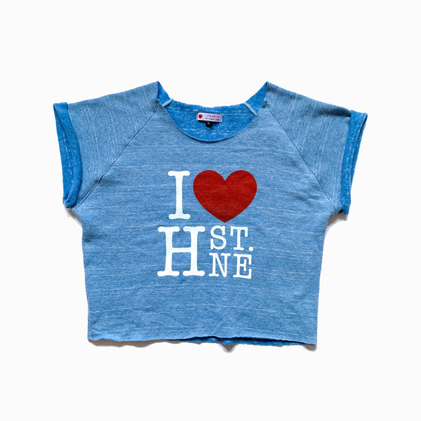 I ❤️ H ST. NE Crop Top - CHRiS CARDi House of Design