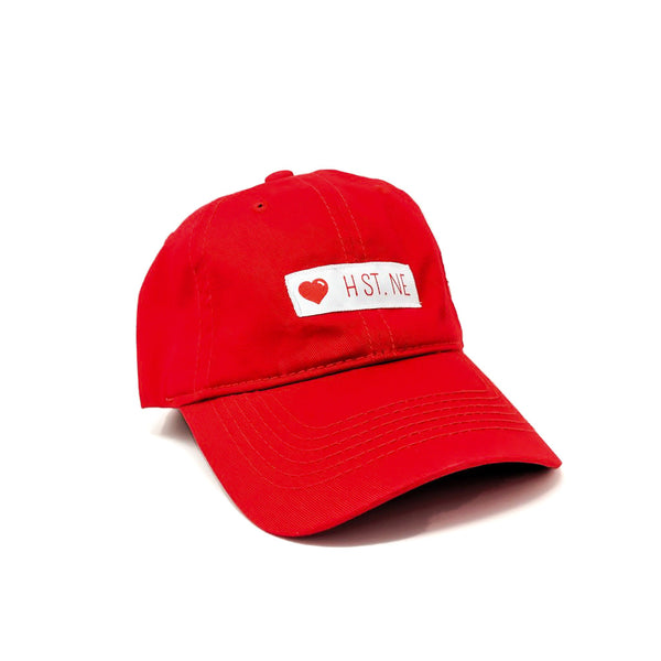❤️ H ST. NE Dad Cap (Red)