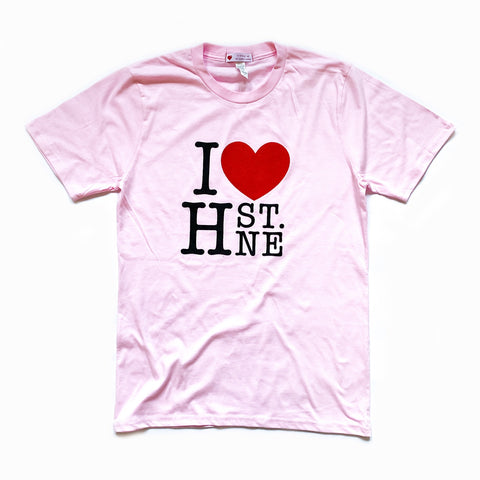 I ❤️ H ST. NE Tee (Pink) - CHRiS CARDi House of Design