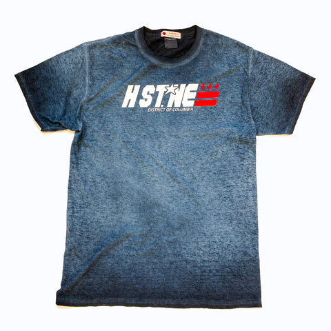 H Street NE Hero Tee (Blue) - CHRiS CARDi House of Design