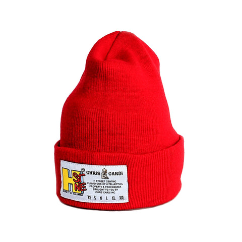 Hst Size Matters Beanie (Red)