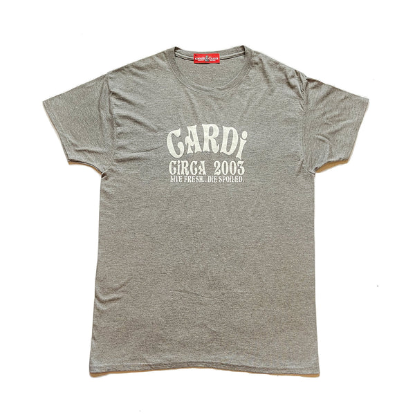CARDi Signature Tee (Grey/White)