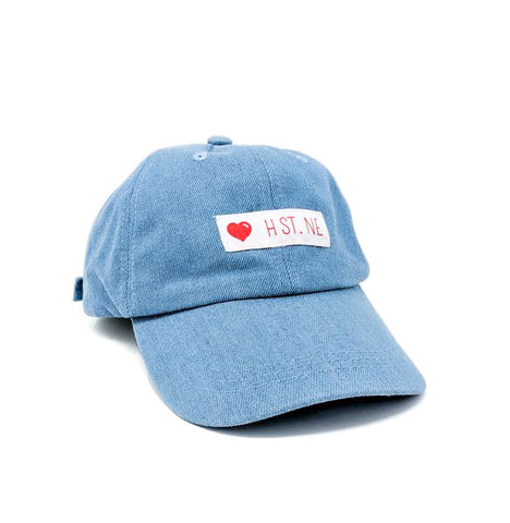 ❤️ H ST. NE Dad Cap (Denim)