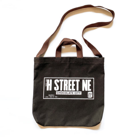H ST. NE Chocolate City Tote - CHRiS CARDi House of Design