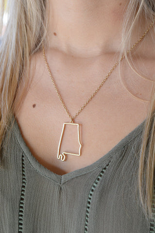 Sweet Home Alabama Necklace