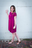 Magenta Everyday Dress