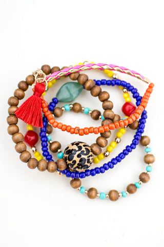 Every Color Beaded Bracelet