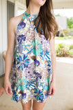 All the Florals Of Spring Dress