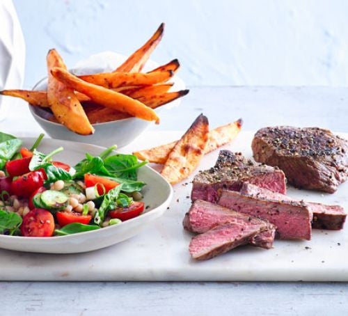 #RecipeSaviours: Steak And Sweet Potato Chips