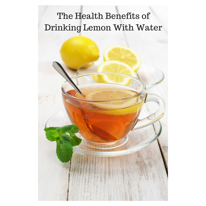 The Health Benefits of Drinking Lemon With Water