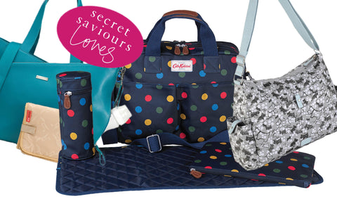 Various maternity changing bags