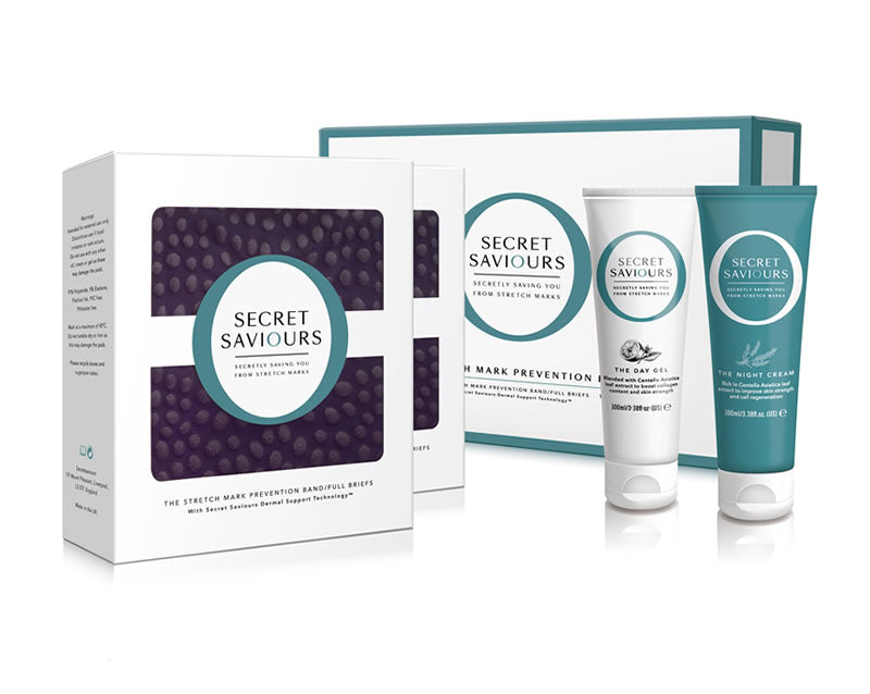 The Stretch Mark Prevention Full-Briefs Kit with extra briefs