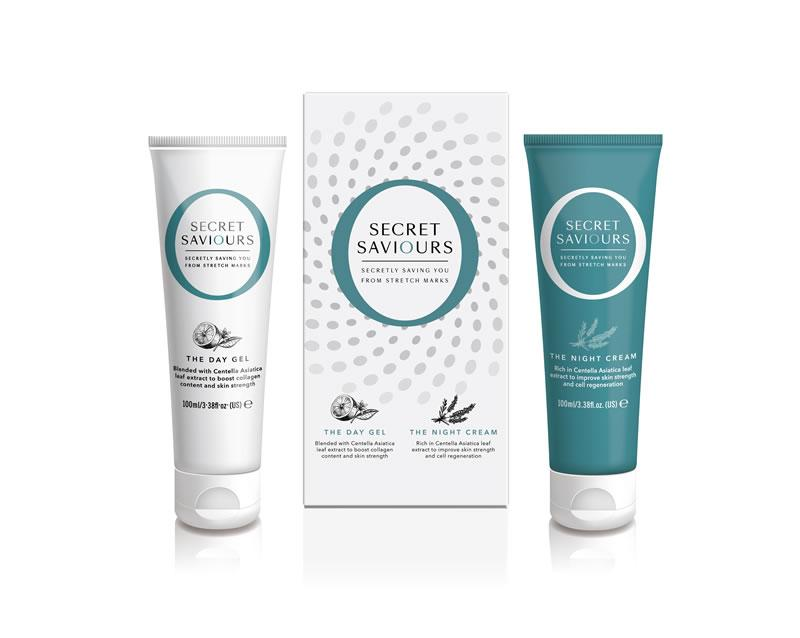 Day Gel & Night Cream - Pregnancy Stretch Mark Prevention
