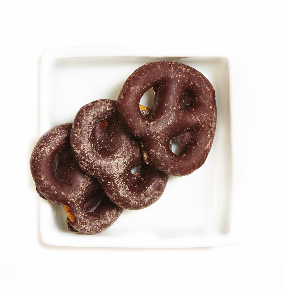 Organic Chocolate Covered Pretzels - HunnyBon - 1