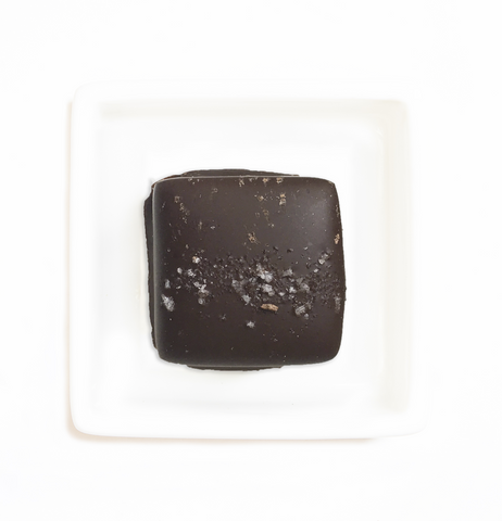 Organic Chocolate Sea Salt Caramels - HunnyBon