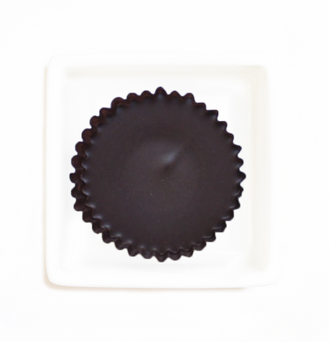 Organic Chocolate Coconut Cups - Caramel & Sea Salt - HunnyBon - 1