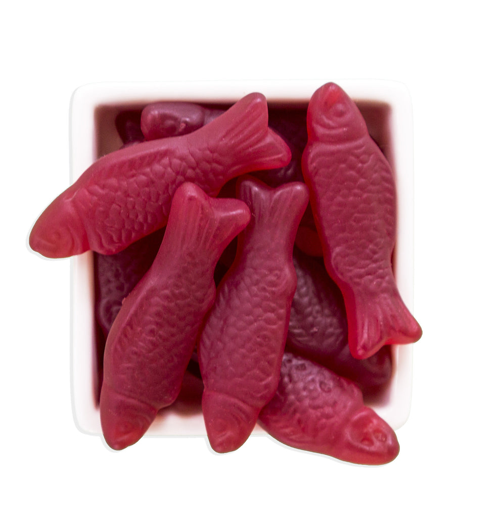 Organic Gummy Fishies - HunnyBon