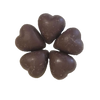 No Sugar 'Milk' Chocolate Hearts - HunnyBon - 2