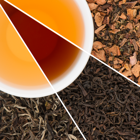 Collection of  Organic Black Teas | 3 Premium Loose Leaf Teas | 5 Oz Total
