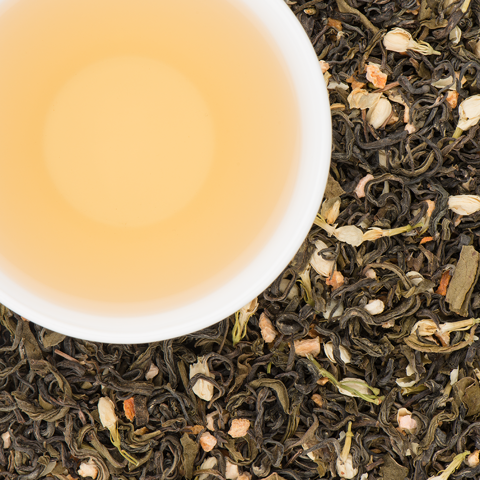 June Jasmine Green Tea Blend  with Smooth and Sublime notes