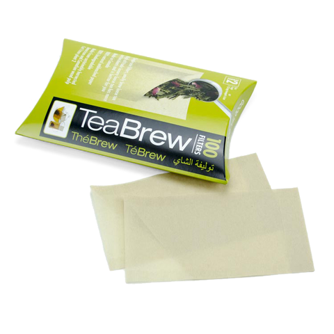 TeaBrew Filters for Loose Tea Brewing - Large Package (100)