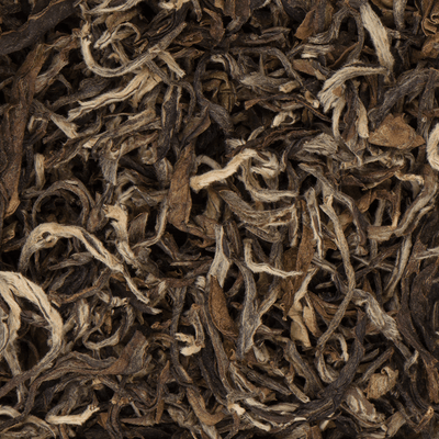 Jasbirey Organic Black Loose Leaf Tea Closeup