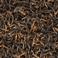 Kalo Chiya Organic Black Loose Leaf Tea Closeup