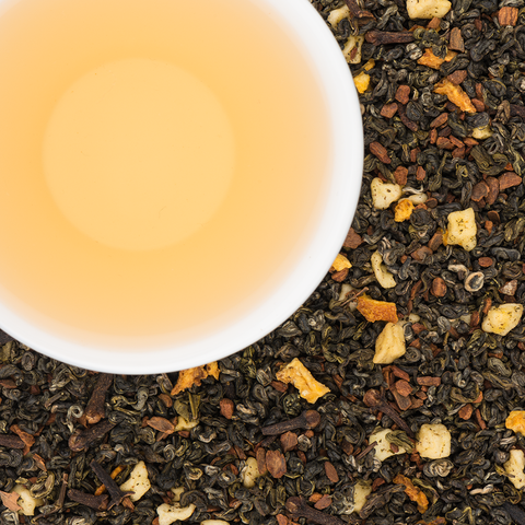 Holiday Spiced Green Tea Blend