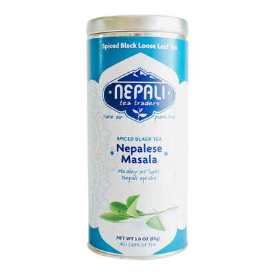 Nepalese Himalayan Masala Spiced Black Tea Blend Retail Tin