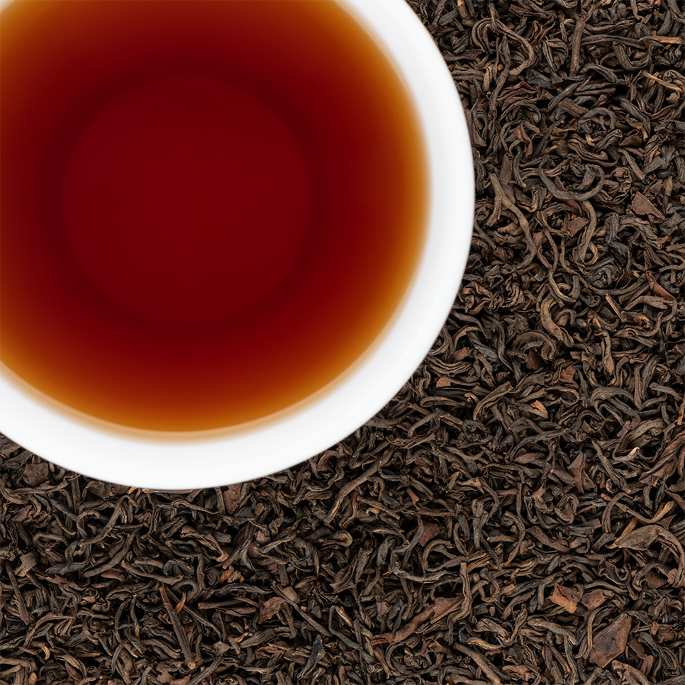 Ruby Organic Loose Leaf Oolong Tea with Bold Earthy Complex Malt notes