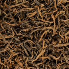 Sagarmatha Gold Organic Black Loose Leaf Tea with Floral Honey Maple Caramel Roasted Almonds notes