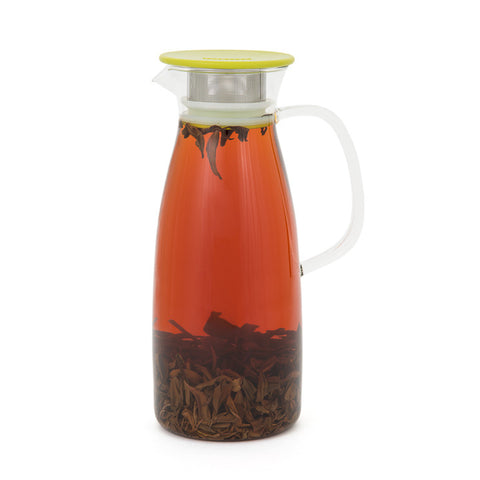 50-Ounce Iced Tea Jug with Built-In Infuser