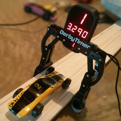 Pinewood Derby Timer