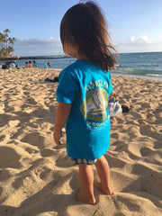 KEIKI Homecoming Tee - TURQUOISE (Large Print on Back)