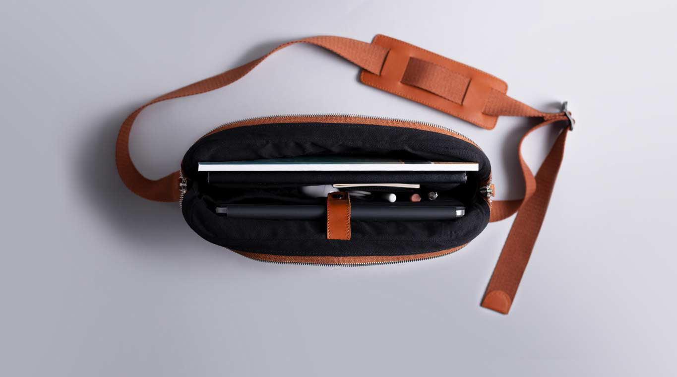 leather messenger bag for iPad