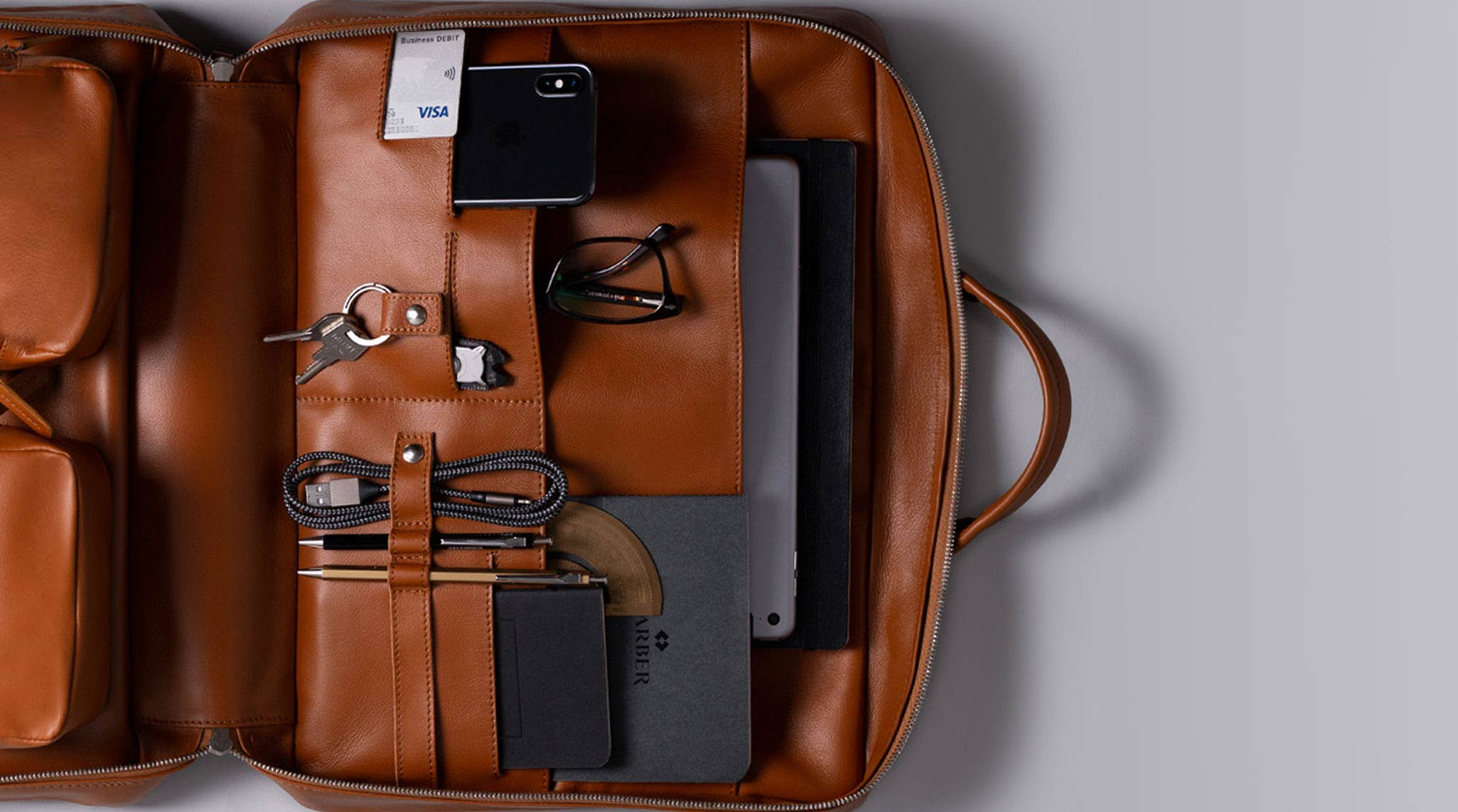 iPad Leather Briefcase