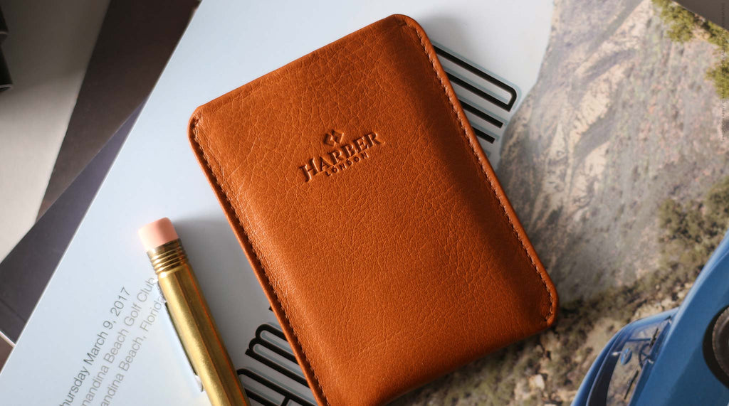 SUPER SLIM CARD HOLDER WITH RFID PROTECTION