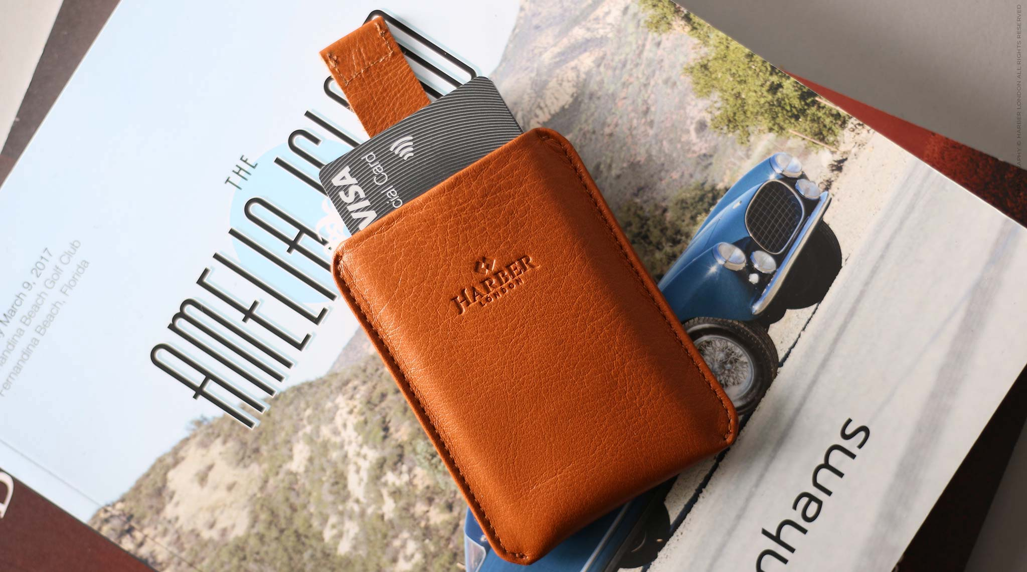 leather card holder rfid