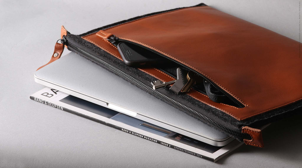 Harber London - Folio Macbook Leather